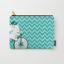 Elegant Elephant Carry-All Pouch