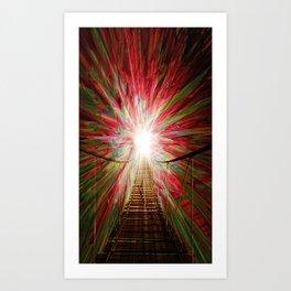 Into The Light Art Print