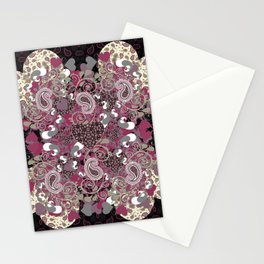 Mature Bush of Pink Love Stationery Cards