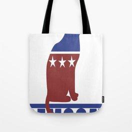 Democat democrat cat Tote Bag