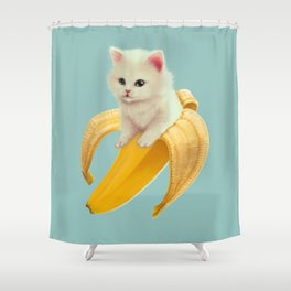 Bananya Shower Curtain