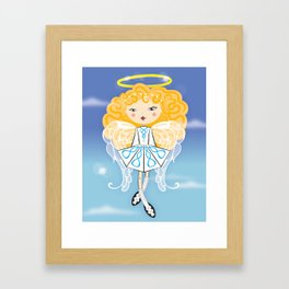Lil 'Angel' Dancer Framed Art Print