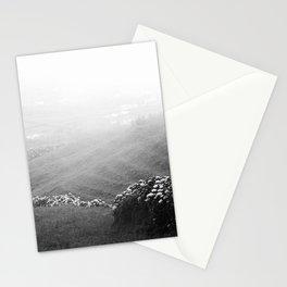 Minimalist landscape Stationery Cards