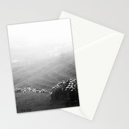 Minimalist landscape Stationery Cards