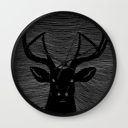 Deerest Wall Clock