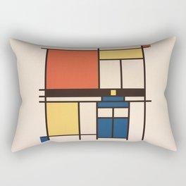 Mondrian Who Rectangular Pillow