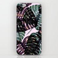 leaf iPhone & iPod Skins featuring Leaf by Burcu Korkmazyurek