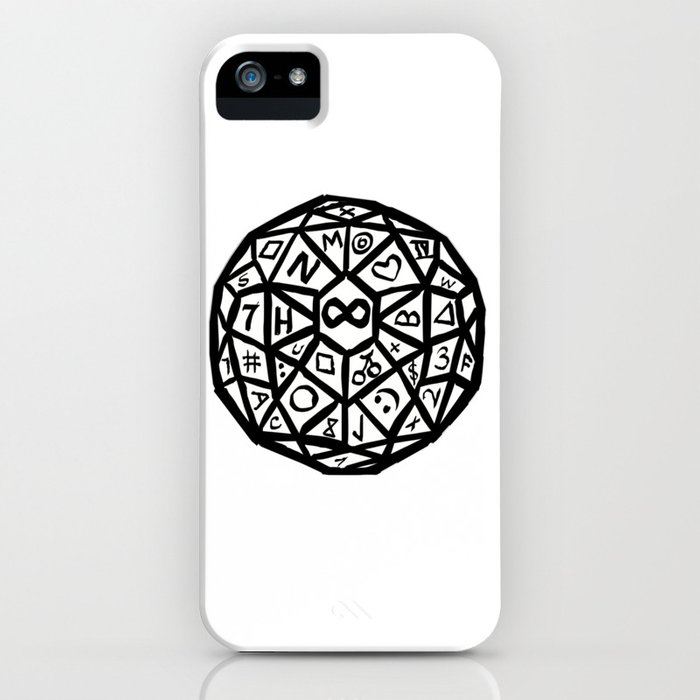 Infinity Die iPhone Case