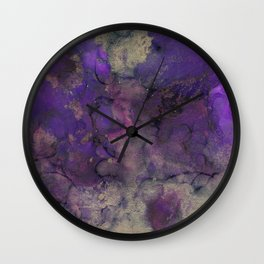 Alcohol Ink 'The Storybook Series: Arabian Nights' Wall Clock