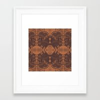 africa Framed Art Prints featuring Africa by Akwaflorell