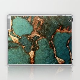 EMERALD AND GOLD Laptop & iPad Skin