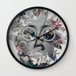 Beauty in Chaos Wall Clock