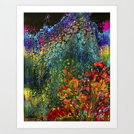 BLOOM BURSTS Art Print