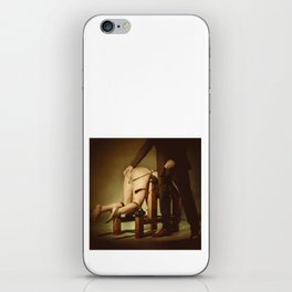 Nude Woman On the Whippingbench iPhone Skin