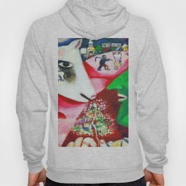 Marc Chagall Me and the Village Hoody