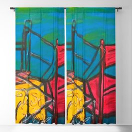 """Celebrations #society6 #decor #buyart  36"""" x 64"""" Oil on hand stretched canvas Blackout Curtain"""