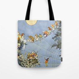 """The Fairy's Birthday"" Illustration by W Heath Robinson Tote Bag"