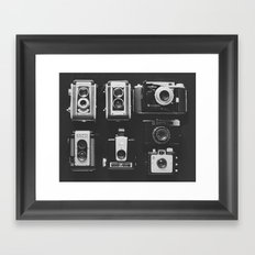 The Vintage Family Framed Art Print