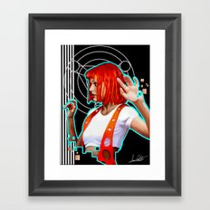 Leeloo Framed Art Print