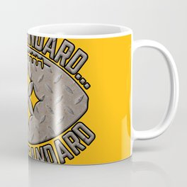 Pittsburgh Football The Standard 412 Steel City Pride Gold Coffee Mug