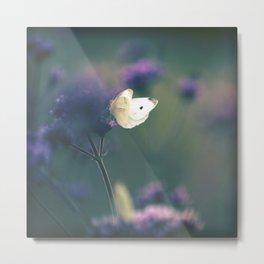 Butterfly Meadow Metal Print