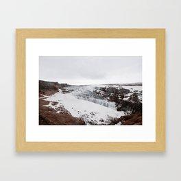 Gulfoss, Iceland Framed Art Print