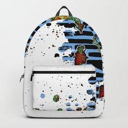 Australian Native Florals Graphic Splotch Backpack