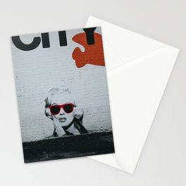 Urban Marylin Monroe Graffiti Art Stationery Cards