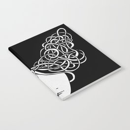 Iconia Girls - Isabella Black Notebook