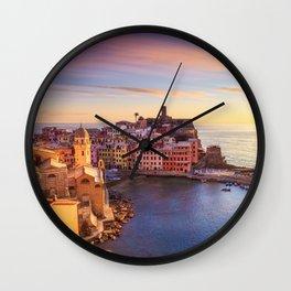 Vernazza, Cinque Terre Wall Clock