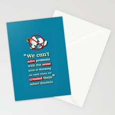 Einstein on Problem Solving Stationery Cards