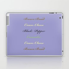 Cheese and Cucumber Laptop & iPad Skin
