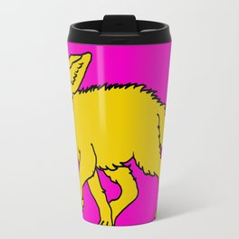 The Sly Fennec Fox Travel Mug
