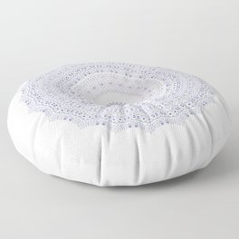 Frosted Little Flowers Floor Pillow