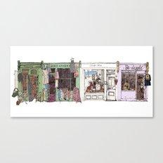 Camden Passage Canvas Print