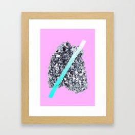 OSMIUM Framed Art Print