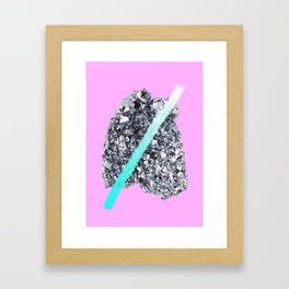 OSMIUM Framed Art Print