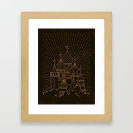 Russian. Framed Art Print
