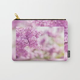 Lilac vibrant pink inflorescence shrub Carry-All Pouch