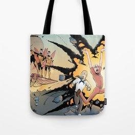 The Monarch Vs Team Venture Tote Bag