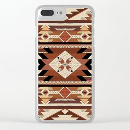 Native feather Clear iPhone Case