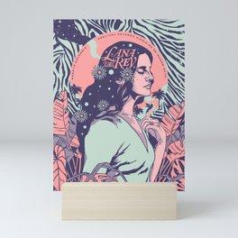 Lana Music Poster Art Print02 Mini Art Print