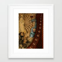 cinema Framed Art Prints featuring Cinema by TTdidier