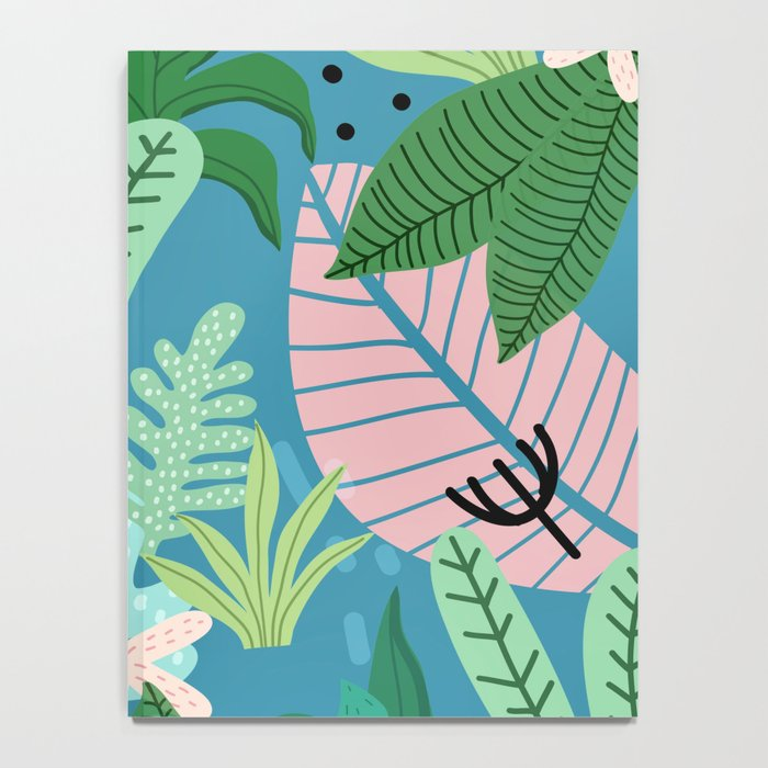 Into the jungle - twilight Notebook