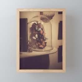 Eternal butterflies Framed Mini Art Print