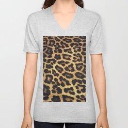Leopard Print pattern - Leopard spots - Texture Unisex V-Neck