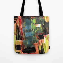 Step Through the Portal Abstract Contemporary Painting Tote Bag