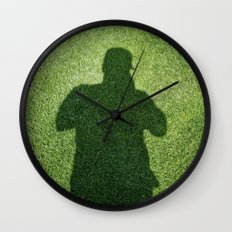 Shadow Man Wall Clock