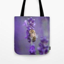 Lavender Bee Tote Bag