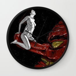 asc 678 - L'amant cosmique (The heavenly dog) Wall Clock